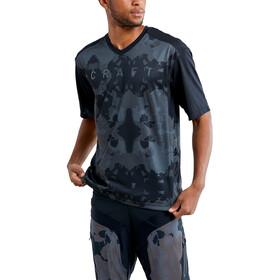 Craft Hale XT Jersey Korte Mouwen Heren, black/multi